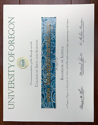 How To Buy A Fake University of Oregon Degree, UO Fake Diploma?