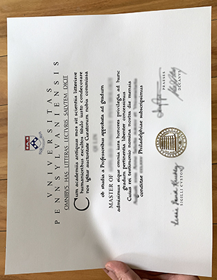 UPenn Degree Certificate, Fake University of Pennsylvania Diploma