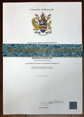 How to Buy The University of Plymouth Fake Degree Certificate?
