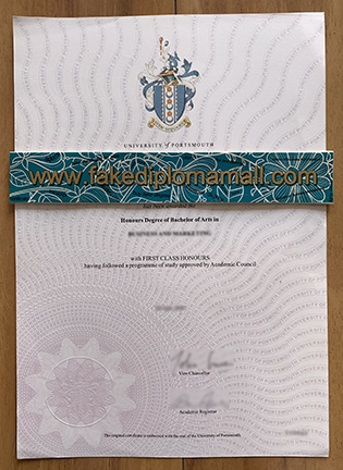 How Can I Trust Online To Buy a Fake University of Portsmouth Degree?