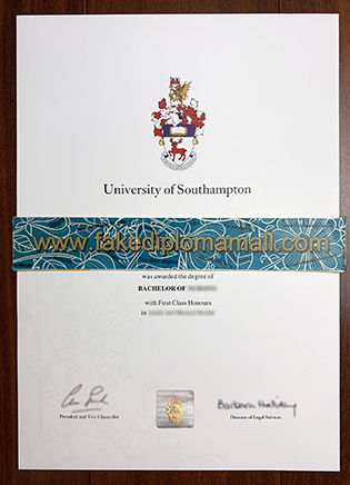 Fake University of Southampton BSc Degree, How to Buy?