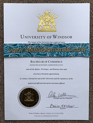 Is There Anyone Sell University of Windsor Diploma?