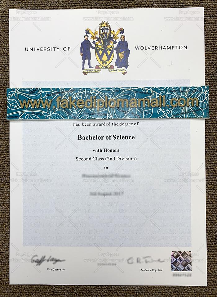 University of Wolverhampton Fake Diploma