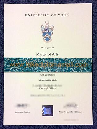 How to Buy University of York (UK) Fake Degree Certificate?
