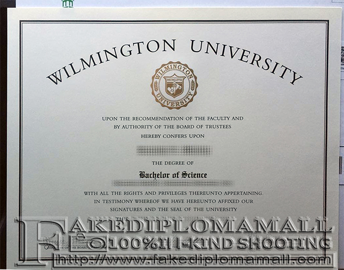 Wilmington University Fake Diploma
