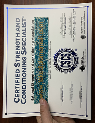 Fake CSCS Certificate, The Most Valuable Certificate In The Fitness Field?