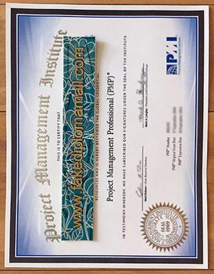 Where To Buy PMP Fake Certificate In Dubai?