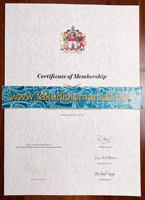 How Do I Get the ICAEW Fake Certificate in England?