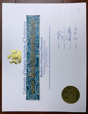 Buy A Fake UOIT Diploma in Ontario
