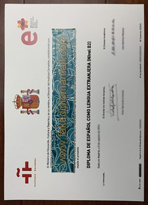 How Do You Obtain A Fake DELE B2 Level Certificate From Madrid?
