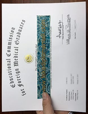 Where Can I Buy A Fake ECFMG Certificate in United States?