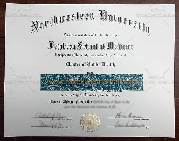 Northwestern University Fake Diploma