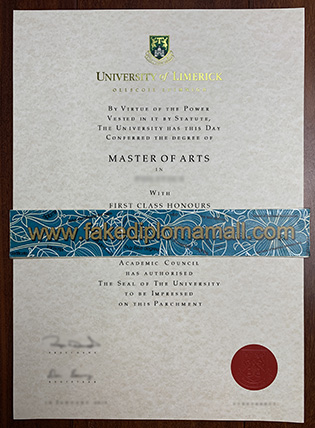How To Buy The University of Limerick  Fake Diploma in Ireland?