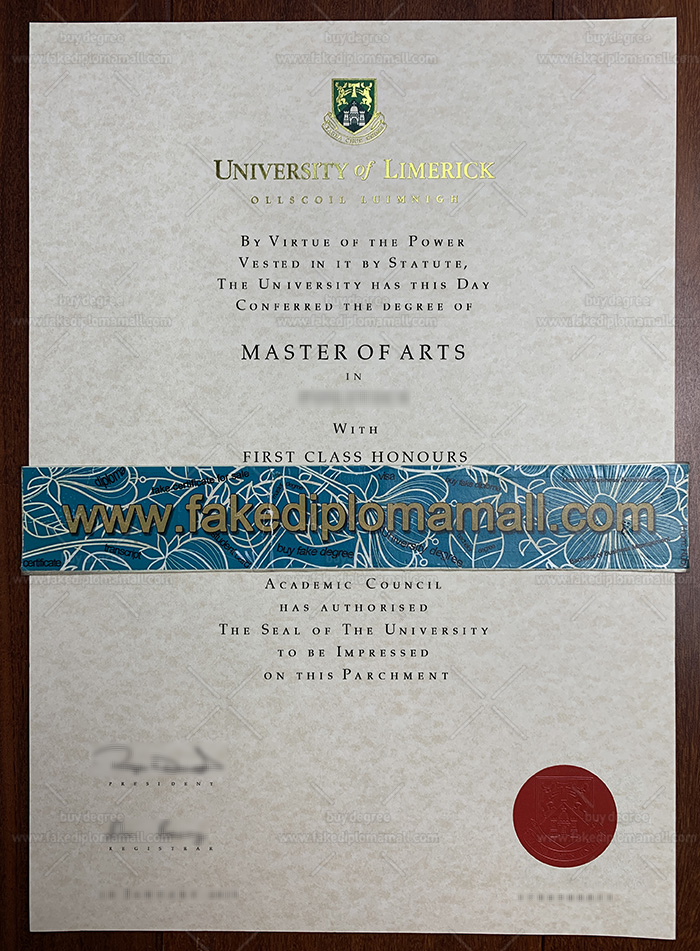 University of Limerick Fake Diploma