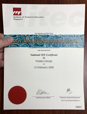What is the Singaporean National ITE Certificate?