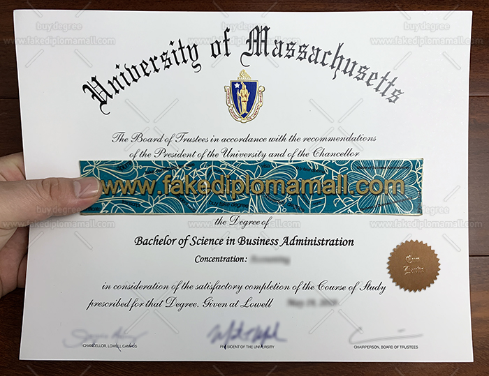 UMASS Lowell Fake Diploma
