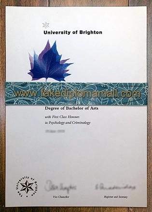 Make Sure To Get Your Genuine University of Brighton Fake Diploma Here