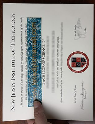 How to Get a Fake NJIT Diploma? New Jersey Institute of Technology Degree Sample