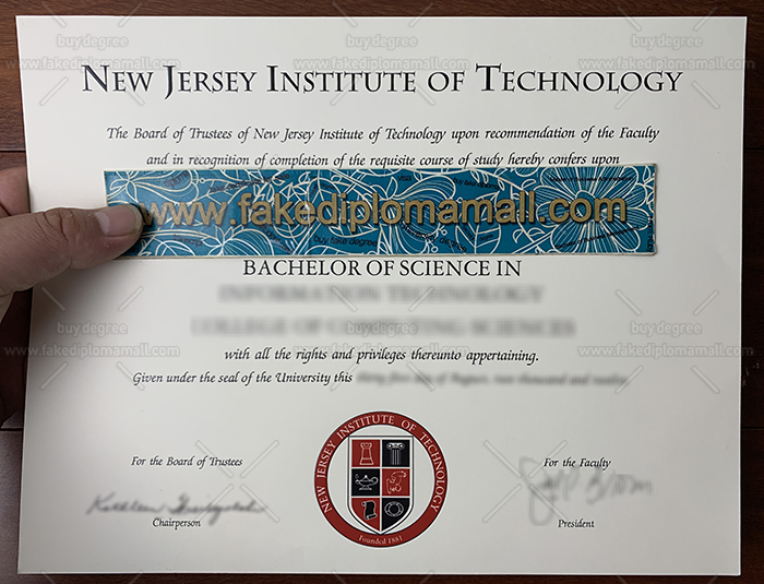 New Jersey Institute of Technology Diploma, NJIT Fake Diploma, NJIT Degree