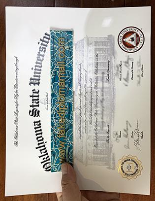 Buy the Oklahoma State University Fake Diploma, OSU Fake Degree