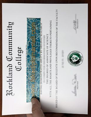 Fake Rockland Community College Associate Degree Before Entering the University