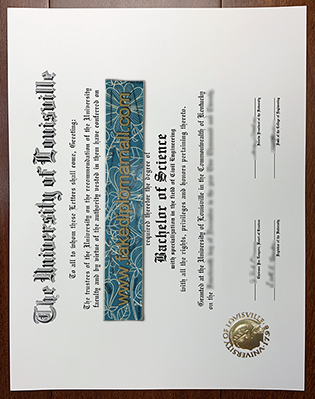 Buy Fake University of Louisville Diploma in Kentucky