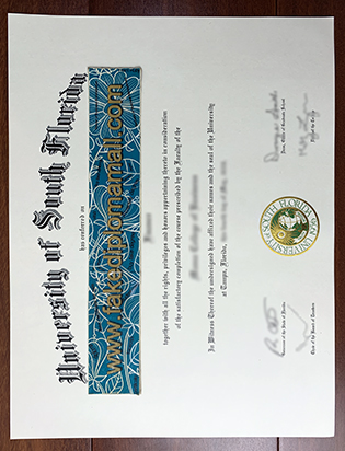 Fast Buy University of South Florida Fake Diploma online