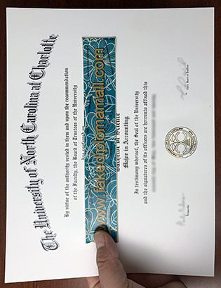 What To Do If I Want to Buy A Fake UNC Charlotte Diploma?