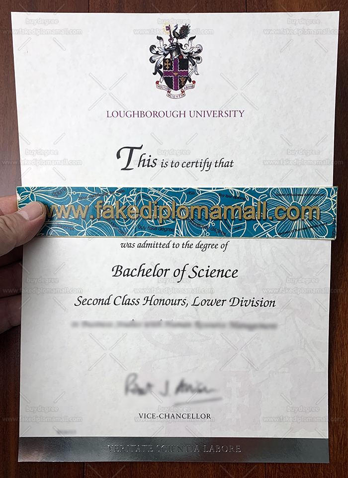 Loughborough University Fake Diploma