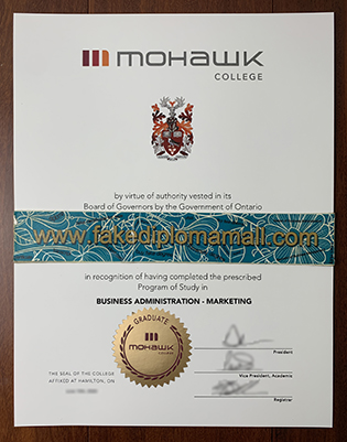 Purchase Your Mohawk College Fake Diploma in Hamilton