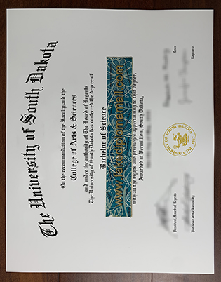 The University of South Dakota Fake Diploma – USD Fake Degree