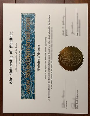 How Fast to Get the University of Manitoba Fake Diploma in Winnipeg?
