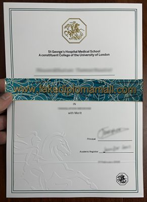 How to Buy a Fake St George's Diploma From University of London?