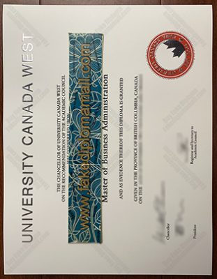 How to Buy the University Canada West Fake Diploma?