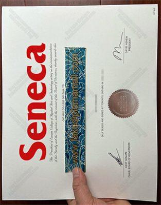 Seneca College Fake Diploma Sample in 2021