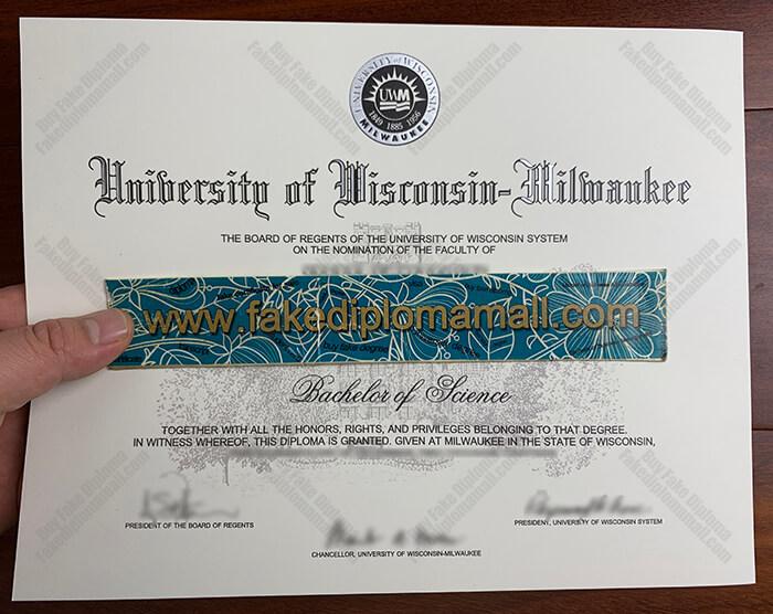 UW-Milwaukee Fake Diploma