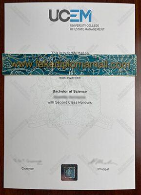 Where to Buy UCEM Fake Diploma in UK?