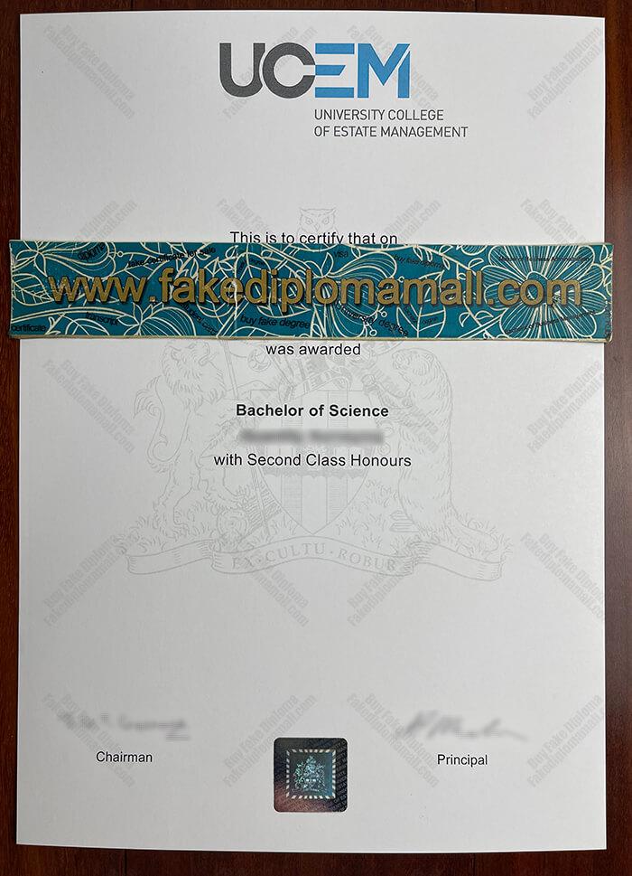 UCEM Fake Diploma